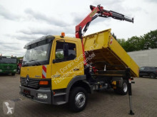 camion Mercedes Atego 1218 Kipper mit PK9501 2x hydr. 5.+6. Bed.
