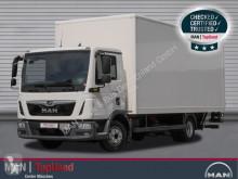 Ciężarówka furgon używana MAN TGL 8.190 4X2 BL Koffer 6m, Klima, Tempomat