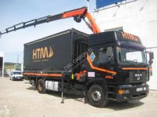 Camión lona corredera (tautliner) usado MAN 19.414