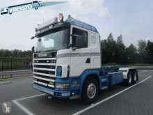 Camion Scania 144-460 Spring transport containere second-hand