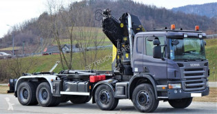 Camion Scania P 380 polybenne occasion