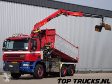 камион Ginaf X 3233 - Epsilon 165Z2 Kraan, Crane, Kran - NCH Kabelsysteem, cable - incl. Container! NL Truck, low KM!