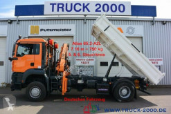 Camion MAN TGA 18.360 4x4 Atlas Kran Meiller + Winterdienst tri-benne occasion