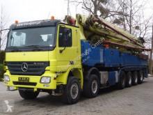 Camion Mercedes Actros 4158 12x4 Betonpumpe PUTZMEISTER 58-5.16 pompe à béton occasion