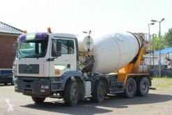 MAN TGA 32410 8X4 9m³ Euro 3 truck used concrete mixer