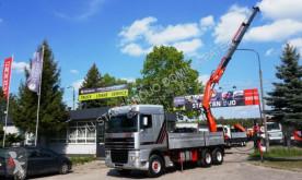 Camion cassone DAF XF 430 6x2 FASSI 360 KRAN CRAN