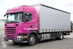 Camion savoyarde occasion Scania G 320 Liee Retarder ACC LDW Schiebeplane LBW 2t