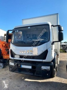 Damaged box truck Iveco Eurocargo 160 E 21