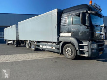 MAN box trailer truck TGS 26.440