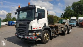 Scania P 420 truck used hook arm system