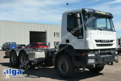 Used chassis truck Iveco AD260T36 6x4, wenig KM, Schalter, Blattfederung