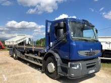 Renault Premium 270.19 DXI truck used iron carrier flatbed