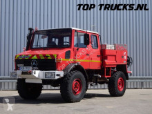 camion Unimog U1550 Mercedes Benz, Doppelkabine, SIDES CCF2000 ltr. feuerwehr - fire brigade - brandweer, Pomp