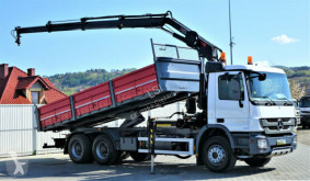 Camion Mercedes Actros 2636 Kipper 6,50m+KRAN/FUNK ! benne occasion