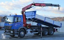 Mercedes Axor 2633 Kipper 6,20m + Kran* Topzustand truck
