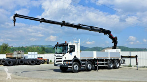 Scania flatbed truck