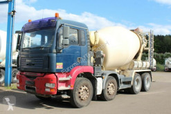 Камион бетон миксер втора употреба MAN TGA 32390 8X4 9m³ Euro 3