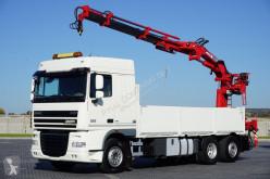ciężarówka DAF - 105.410 / E 5 / SKRZYNIOWY + HDS / ROTATOR