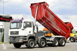 Camion benne occasion MAN TGA 35.390 /8X4 / TIPPER / MANUAL / HYDRO-FLAP /
