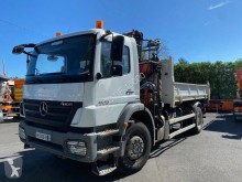 Used two-way side tipper truck Mercedes Axor 1833 KN