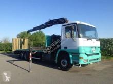 камион превоз на строителна техника Mercedes