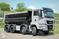 MAN half-pipe tipper truck TGS