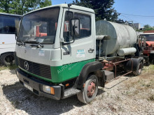 Camion cisternă transport gudron second-hand Mercedes 809