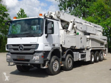 Kamión betonárske zariadenie čerpadlo na betónovú zmes Mercedes Actros 5051 10x4 E5 Betonpumpe PUTZMEISTER 52M