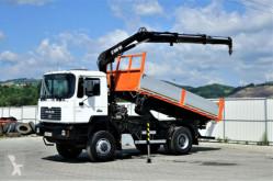 ciężarówka MAN FE 310 A Kipper 4,70 m + KRAN*4x4!!