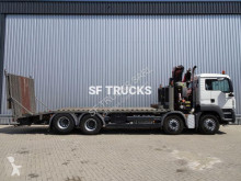 Camion MAN TGS 35.360 transport utilaje second-hand