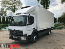 Mercedes ATEGO 1218 KONTENER CHŁODNIA 0*C WINDA 14 PALET KLIMA TEMPOMAT [ truck used refrigerated