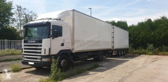 Scania L 114L380 truck used moving box