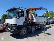 Renault Gamme C 430.32 DTI 11 truck used two-way side tipper