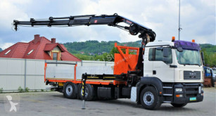 ciężarówka MAN TGA 26.440 Pritsche 6,20m+Kran/FUNK*4x4