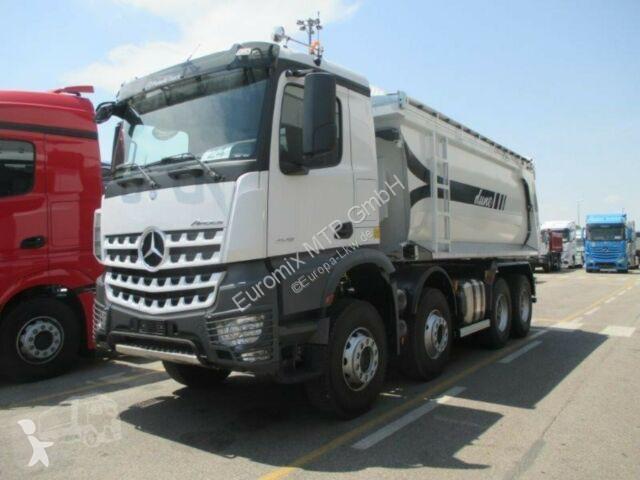 Voir les photos Camion Mercedes 4142 8X4 MuldenKipper Euromix EMT 20m