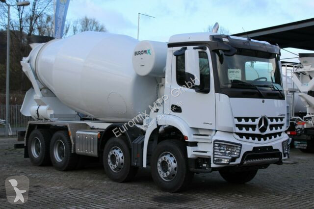 Voir les photos Camion Mercedes 4142 8x4 / Euro 3 EuromixMTP EM 10m R
