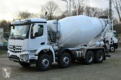 Mercedes 4142 8x4 / Euro 3 EuromixMTP EM 12m R truck used concrete mixer