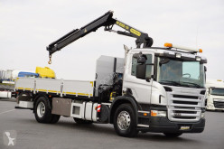 camion Palfinger SCANIA - P 230 / E 5 / SKRZYNIOWY + HDS PK 12002