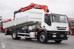 camion Fassi IVECO - STRALIS / 190S31 / WYWROTKA + HDS 130