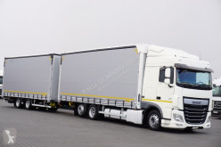 camion remorque DAF - 106 / 460 / ACC / E 6 / ZESTAW PRZEJAZDOWY + remorque
