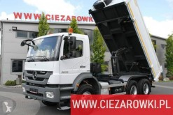 Mercedes Axor truck used two-way side tipper