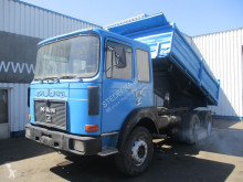 Camion tri-benne occasion MAN 22.281 , ZF Manual , 3way tipper , , Spring suspension