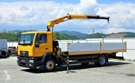 Camion MAN LE 12.220 Pritsche 6,60 m+Kran*4x2*Topzustand! plateau occasion