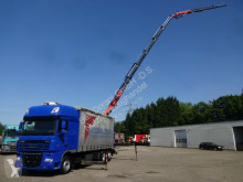 camion DAF Pritsche Plane PK34002 6xhydr JIB 3xhydr 4-Punkt