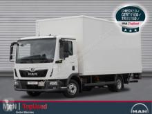 MAN TGL 8.190 4X2 BL Koffer 6m, Klima, Tempomat truck used box