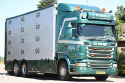 Camion transport bovine Scania R 450