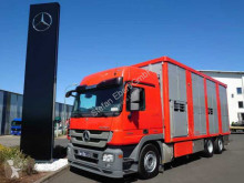 Camion Mercedes Actros 2544 L 6x2 Viehtransporter Ka-Ba 2 Stock furgonetă transport cai second-hand