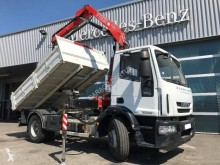 Camion benne TP occasion Iveco Eurocargo 160 E 22 P tector