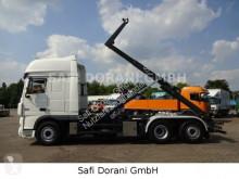 DAF emeletes billenőkocsi teherautó 105.510 Abrollkipper MEILLER 6x2 Retarder