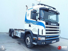 Camion Scania L transport containere second-hand